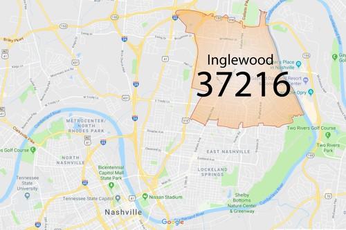 nashville tennessee zip code map Zip Code 37216 Inglewood 2020 Lisa Rumley Lewis 615 478 7591 nashville tennessee zip code map